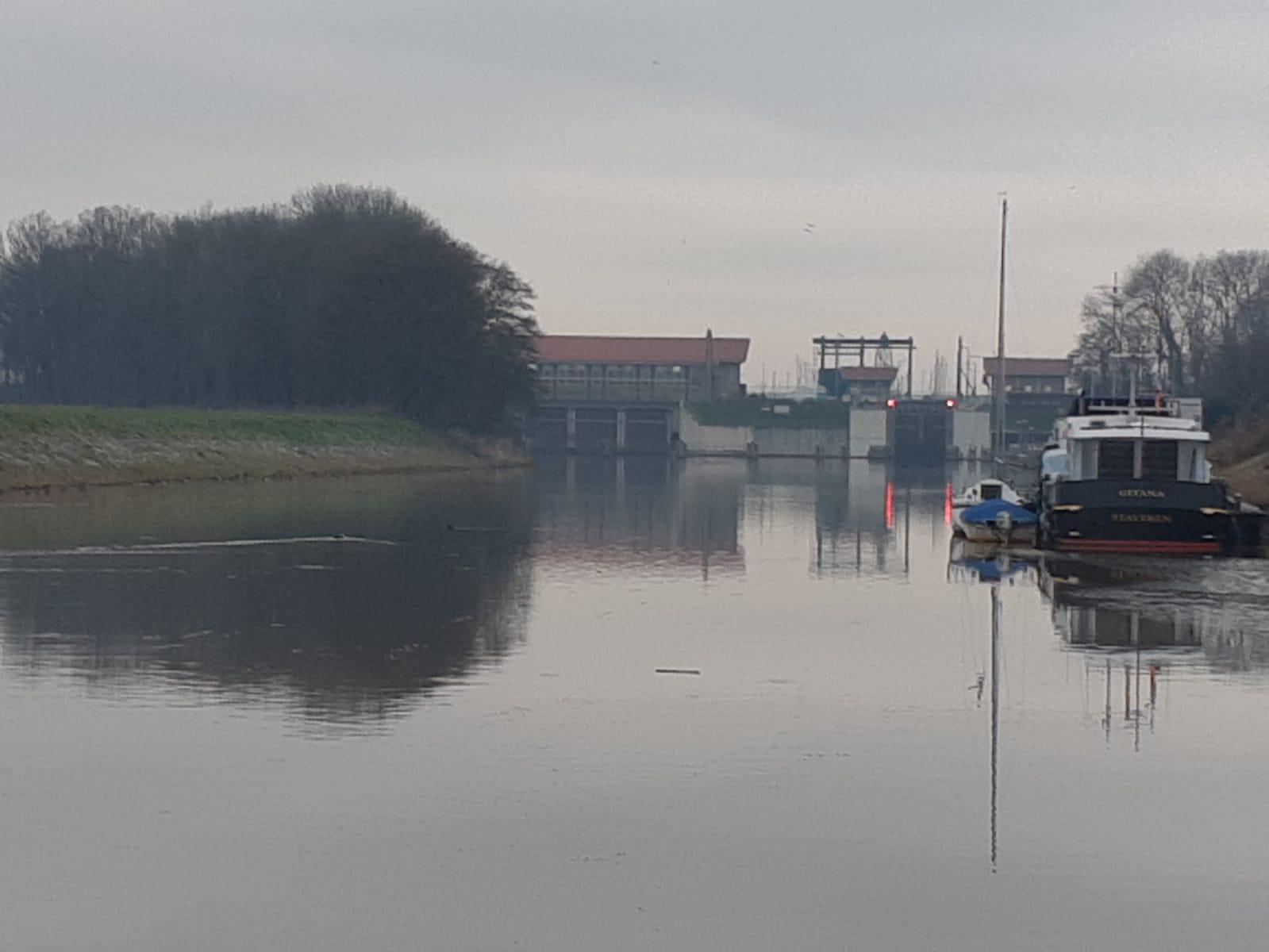 Friesesluis ansicht vanuit de NOP- Flevoland