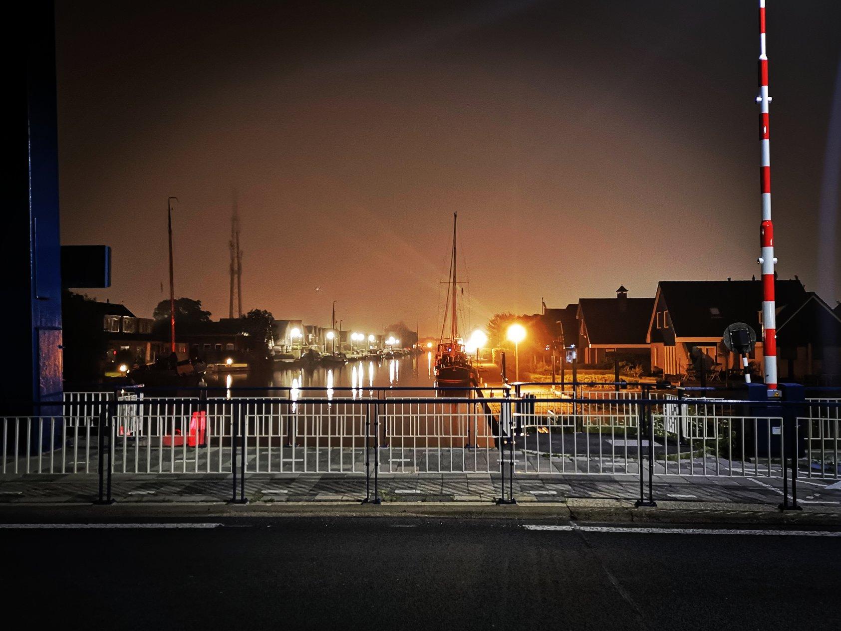 Zylroedebrug ansicht centrum s'nacht's